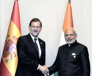 G20 Summit 2015 - sidelines - PM Modi, Spain Prime