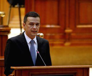 File Photo: Prime Minister of Romania Sorin Grindeanu