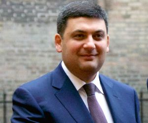 File Photo: Prime Minister of Ukraine Volodymyr Groysman