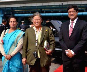 Princess Maha Chakri Sirindhorn arrives in India