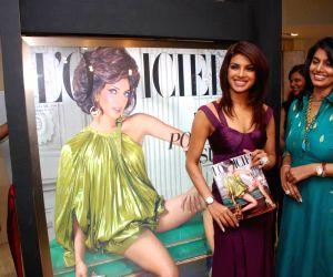 Priyanka Chopra at the L'Officiel magazine launch at Trident, Mumbai.