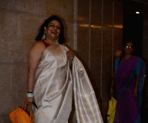 Priyanka and Nick's engagement party - Priyanka's mother Madhu Chopra