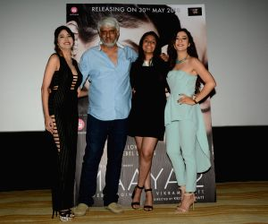 Producer - Director Vikram Bhatt launches Maya 2, a sequel of web series Maya with actors Leena Jumani, Priyal Gor and others in Mumbai.
