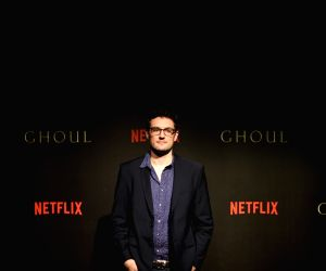 "Black carpet premiere of horror series ""Ghoul"" - Kilian Kerwin"
