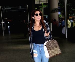 Krishika Lulla spotted at airport