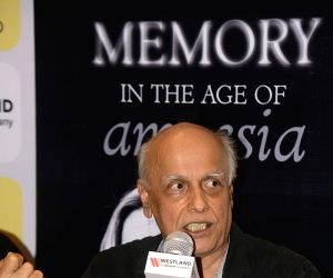 Mahesh Bhatt at a book launch