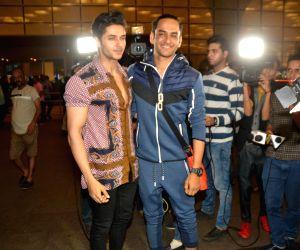 Vikas Gupta and Siddharth Gupta leave for Argentina