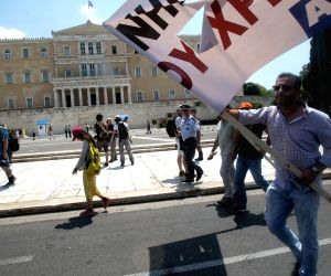 GREECE ATHENS POLITICS DEMONSTRATION