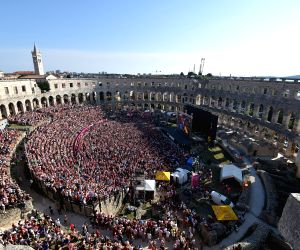 CROATIA PULA FIFA WORLD CUP FANS