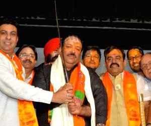 Punjab BJP's new president Shwet Malik at party office