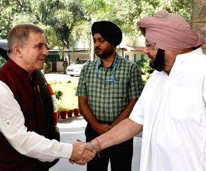 Punjab CM meets Israel Ambassador to India Daniel Carmon