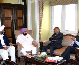 Punjab CM meets Tata Sons chairman