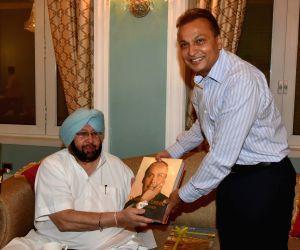 Punjab CM meets Anil Ambani