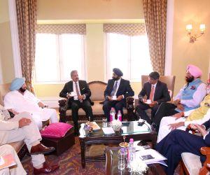 Punjab CM meets Anand Mahindra