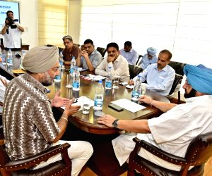 Chandigarh: Punjab CM Amarinder reviews functioning of Horticulture department