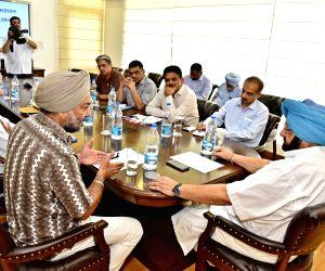 Chandigarh: Punjab CM Amarinder reviews functioning of Horticulture department
