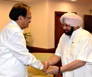 Punjab CM calls on Venkaiah Naidu