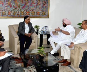 Punjab CM meets Arvind Panagariya