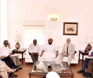 UNODC Sergey Kapinos representatives meet Punjab CM Amarinder Singh