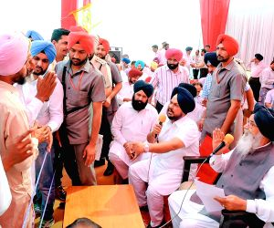 Parkash Singh Badal during a programme
