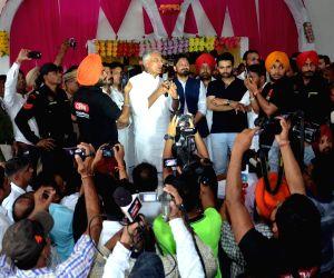 Pathankot (Punjab): Gurdaspur bypoll - Congress workers meet