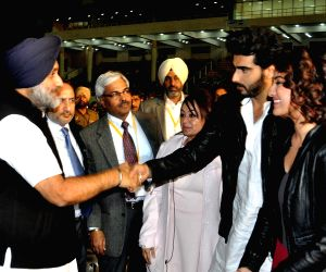 Punjab CM, Deputy CM, Sonakshi Sinha, Arjun Kapoor at the inaugural programme of fifth World Kabbadi Cup