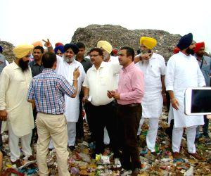 Punjab Dy CM visits Bhagtanwala dump yard