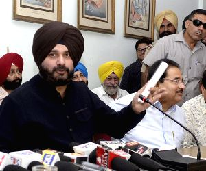 Navjot Singh Sidhu's press conference
