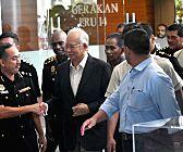 MALAYSIA-PUTRAJAYA-NAJIB RAZAK-CORRUPTION PROBE