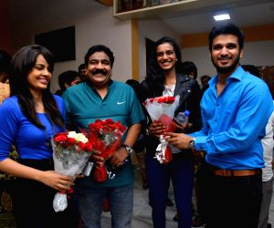 PV Sindhu watched Ekkadiki Potav Chinnavada Movie