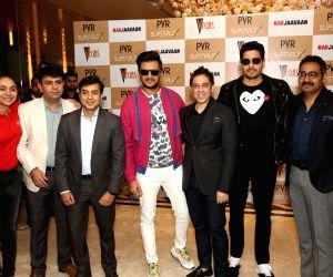 "Film ""Marjaavaan"" star cast at the launch of Delhi's first 12 - Screen Superplex"