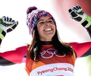 OLY SOUTH KOREA PYEONGCHANG ALPINE SKIING LADIES' SUPER G