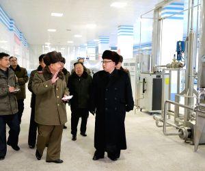 DPRK-KIM JONG UN-FISH PICKLING FACTORY-FISHERY STATION-FIELD GUIDANCE