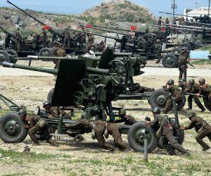 DPRK-KIM JONG UN-KPA-FIRING CONTEST