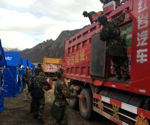 CHINA TIBET EARTHQUAKE RESCUE