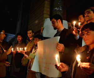 PAKISTAN QUETTA SCHOOL ATTACK VIGIL CEREMONY