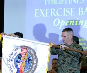 PHILIPPINES-QUEZON CITY-BALIKATAN EXERCISE-OPENING CEREMONY