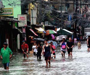 PHILIPPINES-QUEZON CITY-TROPICAL STORM