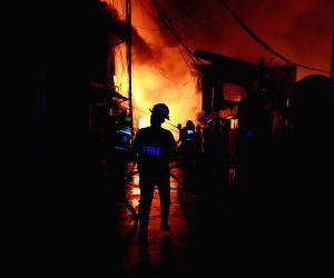 PHILIPPINES QUEZON CITY SLUM FIRE