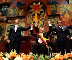 ECUADOR QUITO PRESIDENT LENIN MORENO SWEARING IN CEREMONY