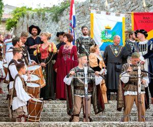 CROATIA-RAB ISLAND-RABSKA FJERA-MEDIEVAL FAIR