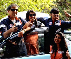 Anil Srivatsa drive to Scotland from Bengaluru