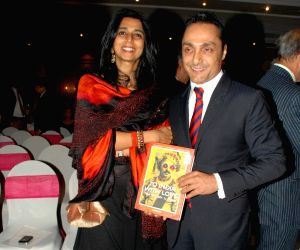 Rahul Bose at the launch of  book India With Love at Taj Hotel