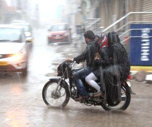Rains lash Hyderabad