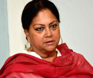 Vasundhara Raje's press conference