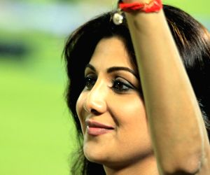 Shilpa Shetty during the match between PWI & RR