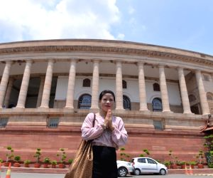 MC Mary Kom at Parliament