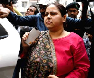 Rabri Devi, Misa Bharti arrive at ED office
