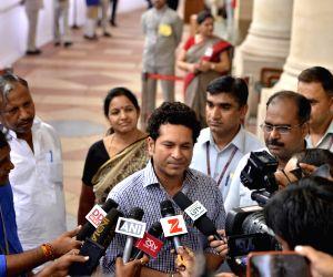 Parliament- Sachin Tendulkar