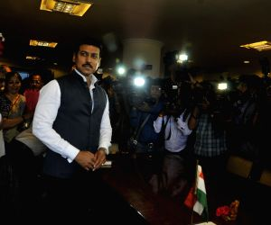 Rajyavardhan Singh Rathore takes charge as MoS Skill Development and Entrepreneurship
